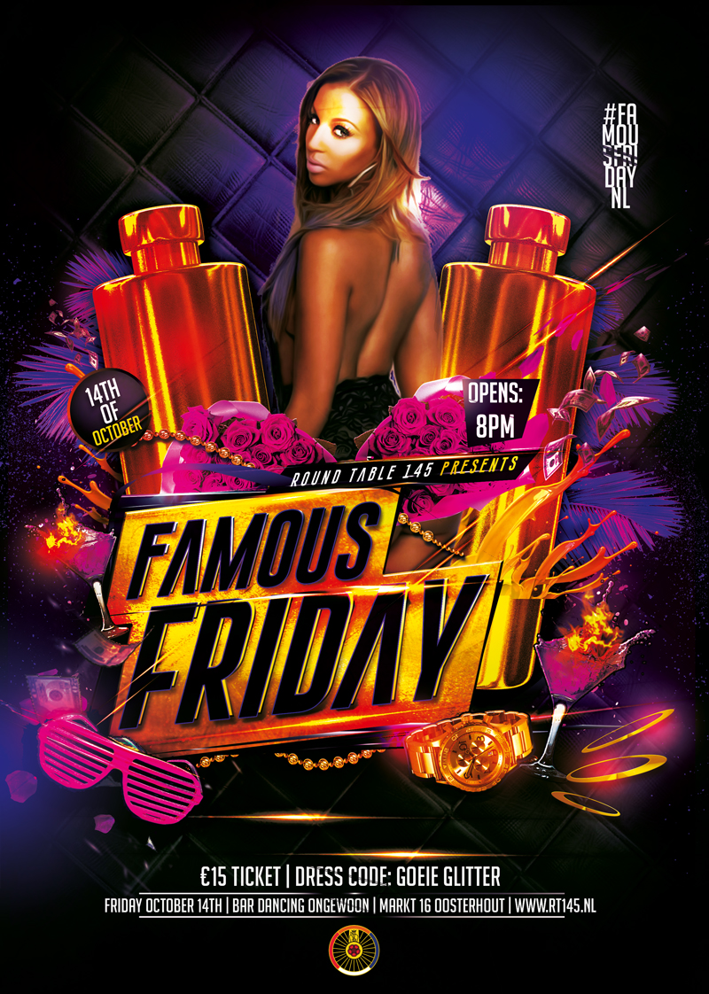 Flyer-Famous-Friday